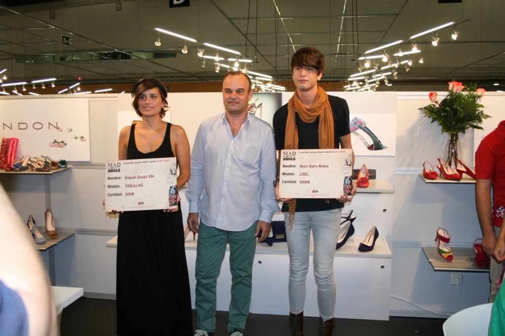 MODA | 2º Premio no concurso de deseño de calzado Mad About Shoes