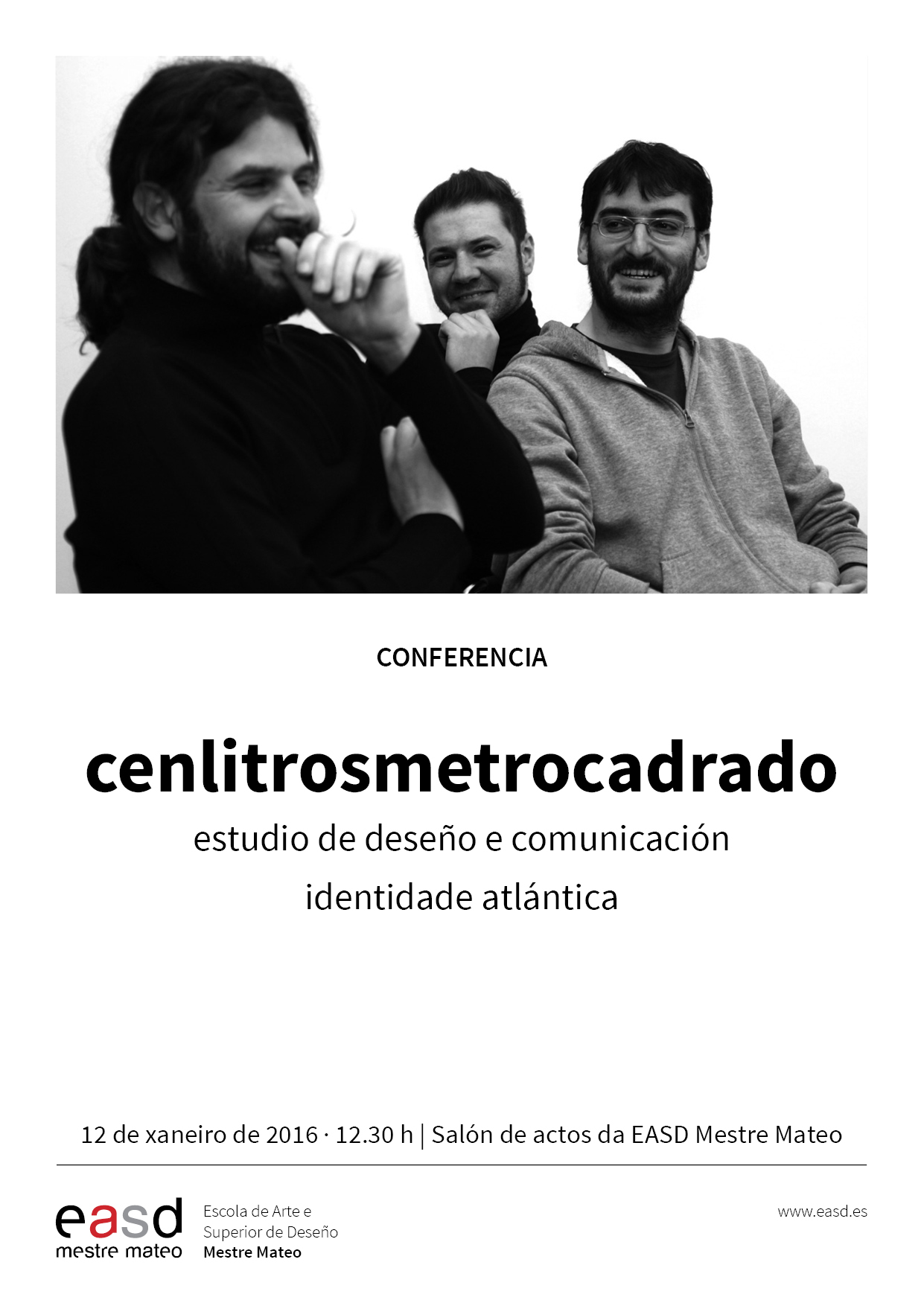 CONFERENCIAS MM| Cenlitrosmetrocadrado